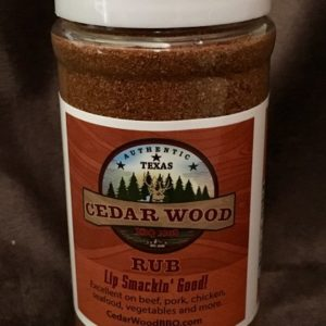 CedarWood BBQ Rub